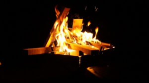 焚火の癒し